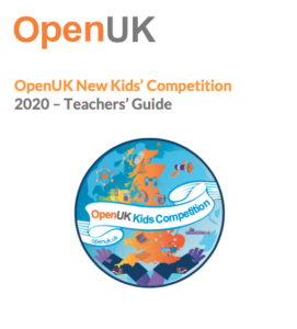 OpenUK Kids Competition Teachers' Guide